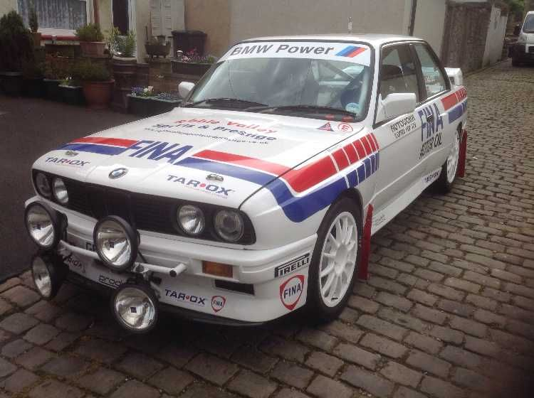BMW E30 Rally Car With M3 Power Msa Logbooked I Have Decided To Move To The