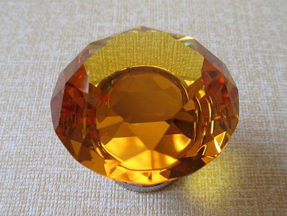 Crystal Knob Glass Knobs Dresser Drawer Knobs Pull Handles / Cabinet Pulls Knobs…
