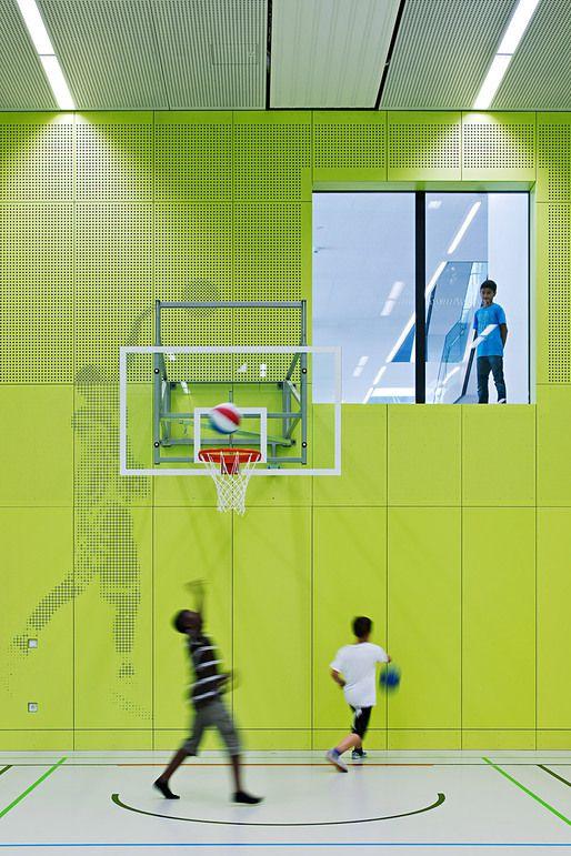 Showcase Stelzhamerschule Linz Pinterest Architecture School