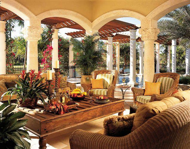 High End Interior Design Firm Decorators Unlimited Palm Beach Caribbean Cidnie Outdoor