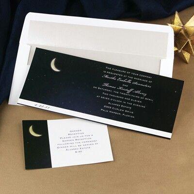 celestial invitations wedding ideas pinterest weddings