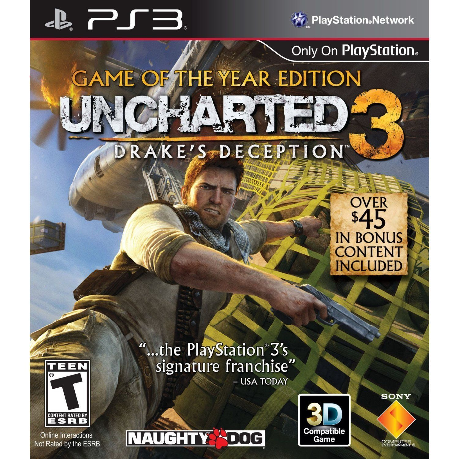 Uncharted 3 Drake S Deception Game Of The Year Edition Juegos