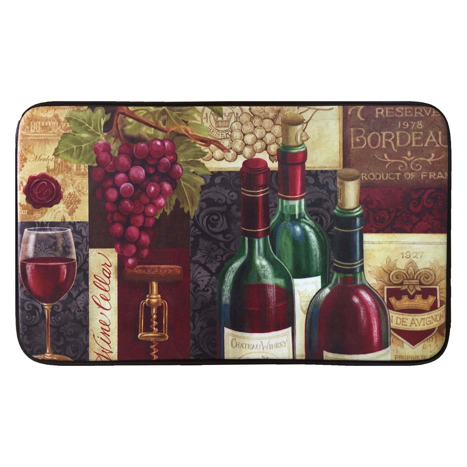 Whisk Designer Chef Dc45 Wine Cellar Kitchen Mat Products