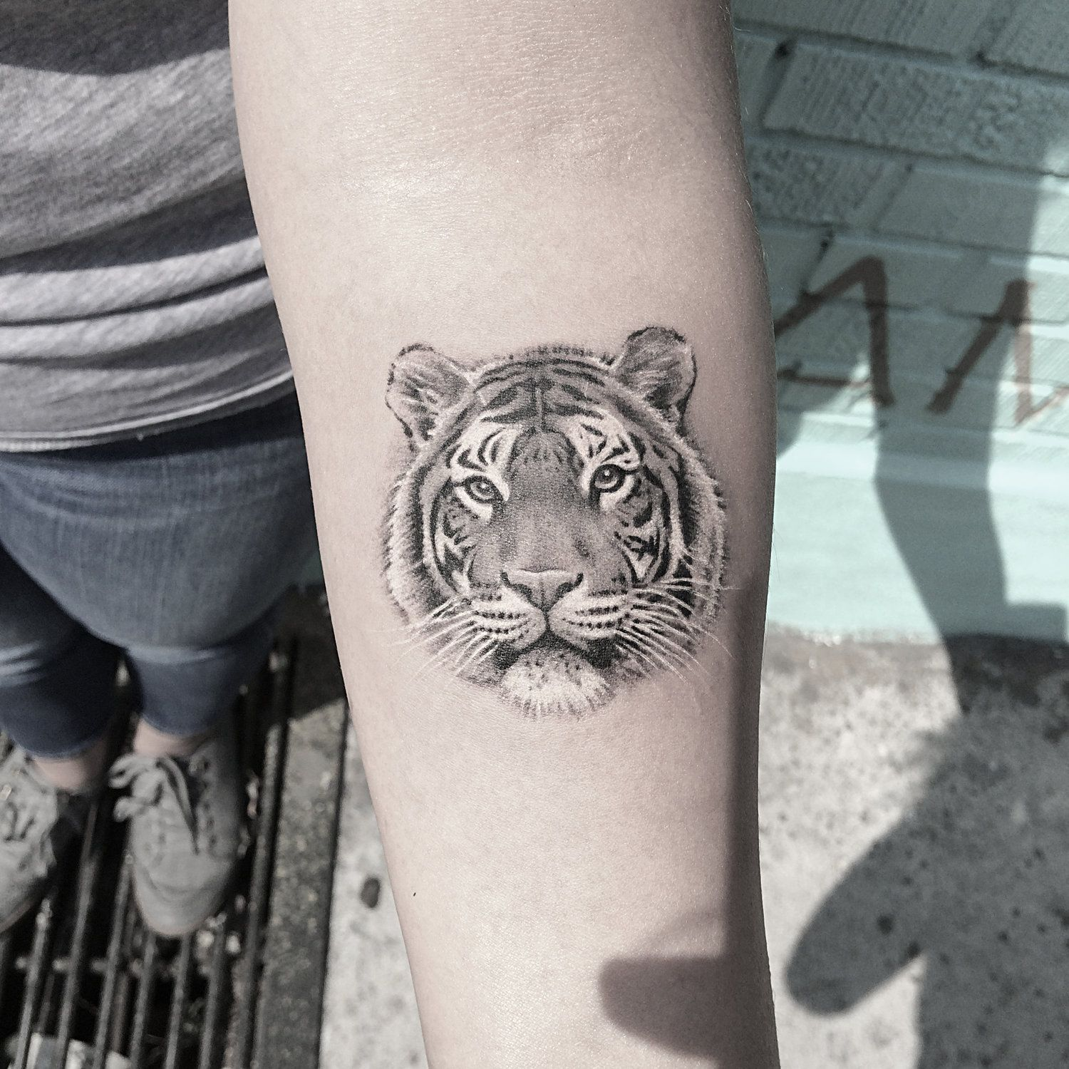 Tiger1.JPG Neck tattoo, Samoan tattoo, Tattoos