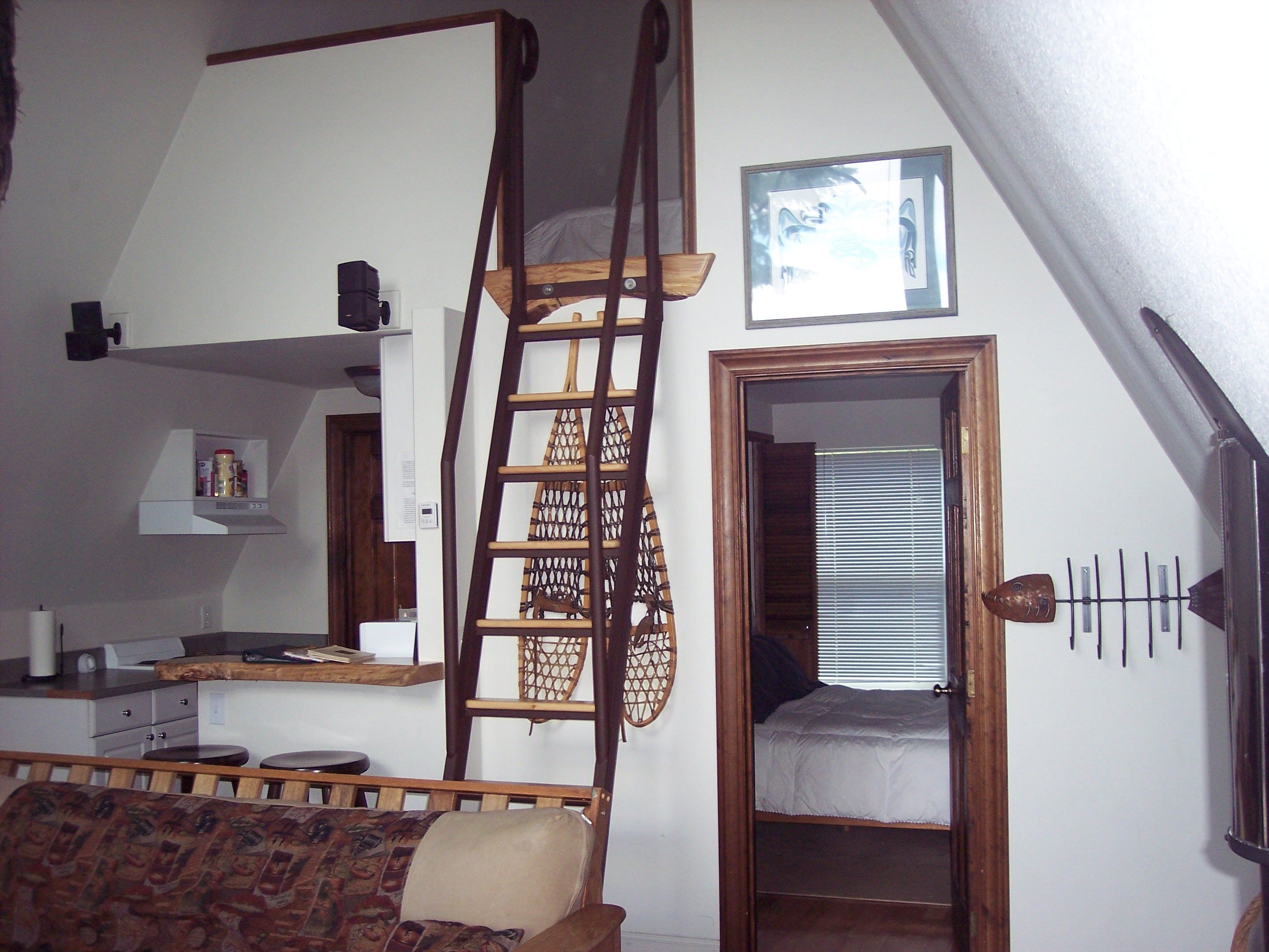 Loft access stairs and ladders san francisco by royo architects - Ship Ladder The Perfect Stairs For Getting Up To A Cabin Loft