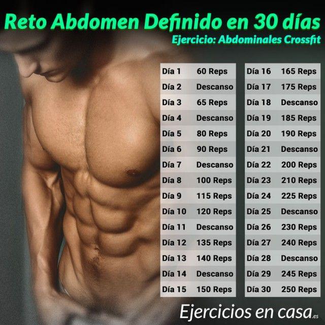 En abdominales ejercicios hombres para casa