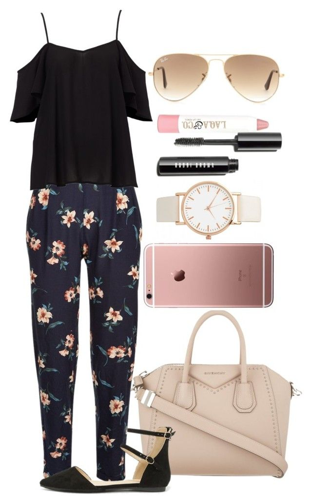 """""""Untitled #1218"""" by fabianarveloc on Polyvore featuring Givenchy, Liliana, Ray-Ban and LAQA & Co."""