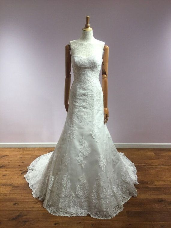 SayIDo: Couture Wedding Dress Sweetheart  by SayIDoForever on Etsy