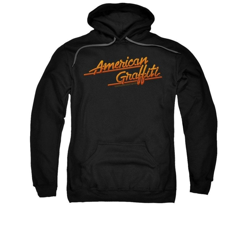 American Grafitti - Neon Logo Adult Pull-Over Hoodie