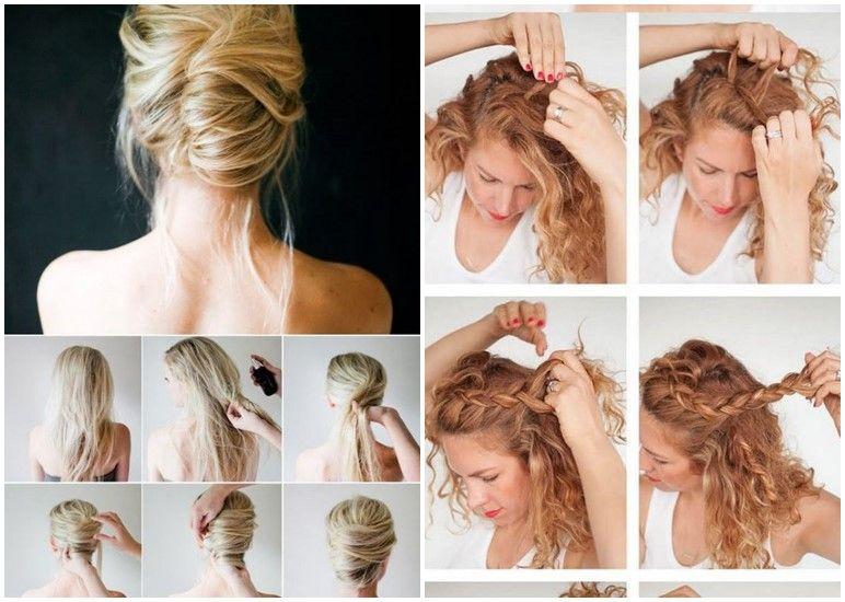 Einfache Elegante Frisuren Für Lange Haare Einfache Frisuren