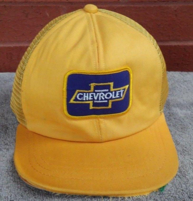 Chevrolet Yellow Trucker Hat