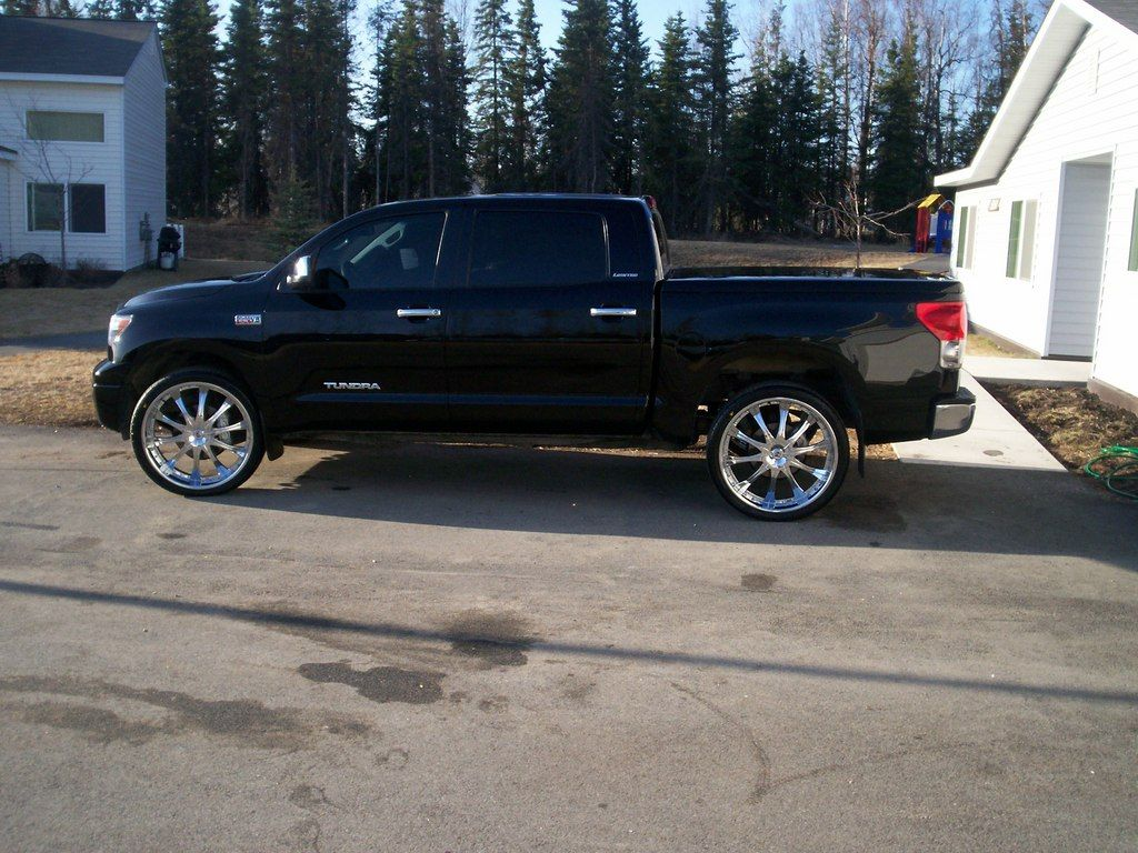 F150 on 24s thread 24 vs 26 inch rims bzo avenue