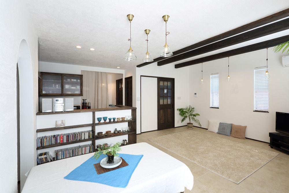 リゾートスタイルで暮らす家 京都で注文住宅を建てるデザオ建設のフォトギャラリー 住宅 注文住宅 家