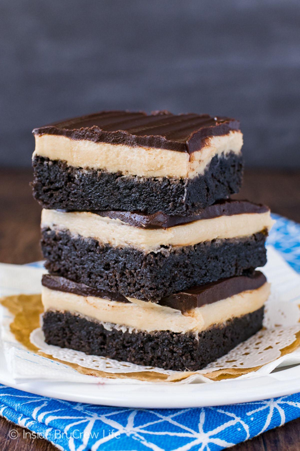Coffee Cream Brownies Recipe Desserts, Coffee dessert