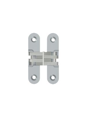 Deltana 2 75 X 0 625 Inch Square Concealed Hinge Brushed Chrome Dch208u26d Concealed Hinges Hinges Concealed