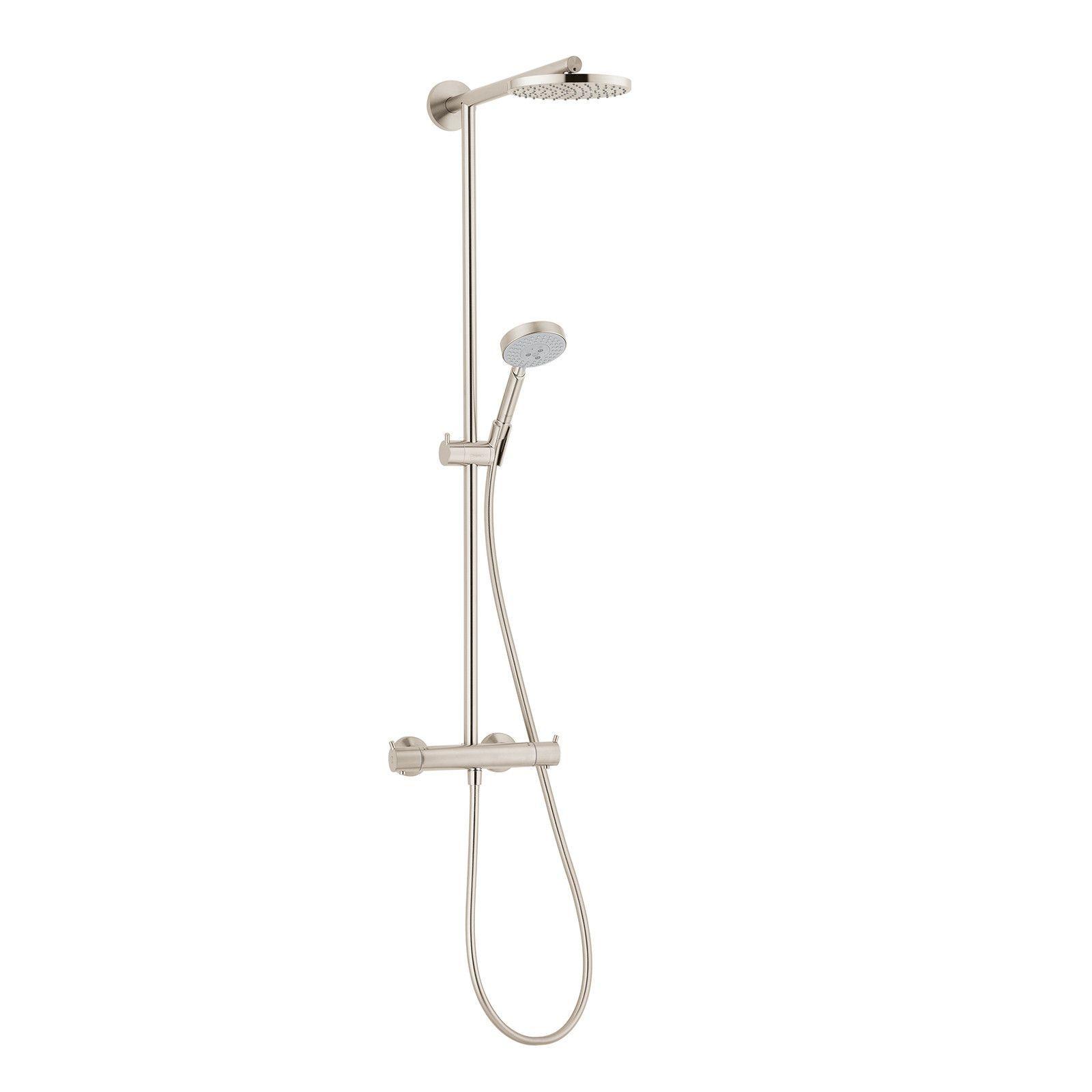 Hansgrohe Brushed Nickel Raindance Showerpipe Shower