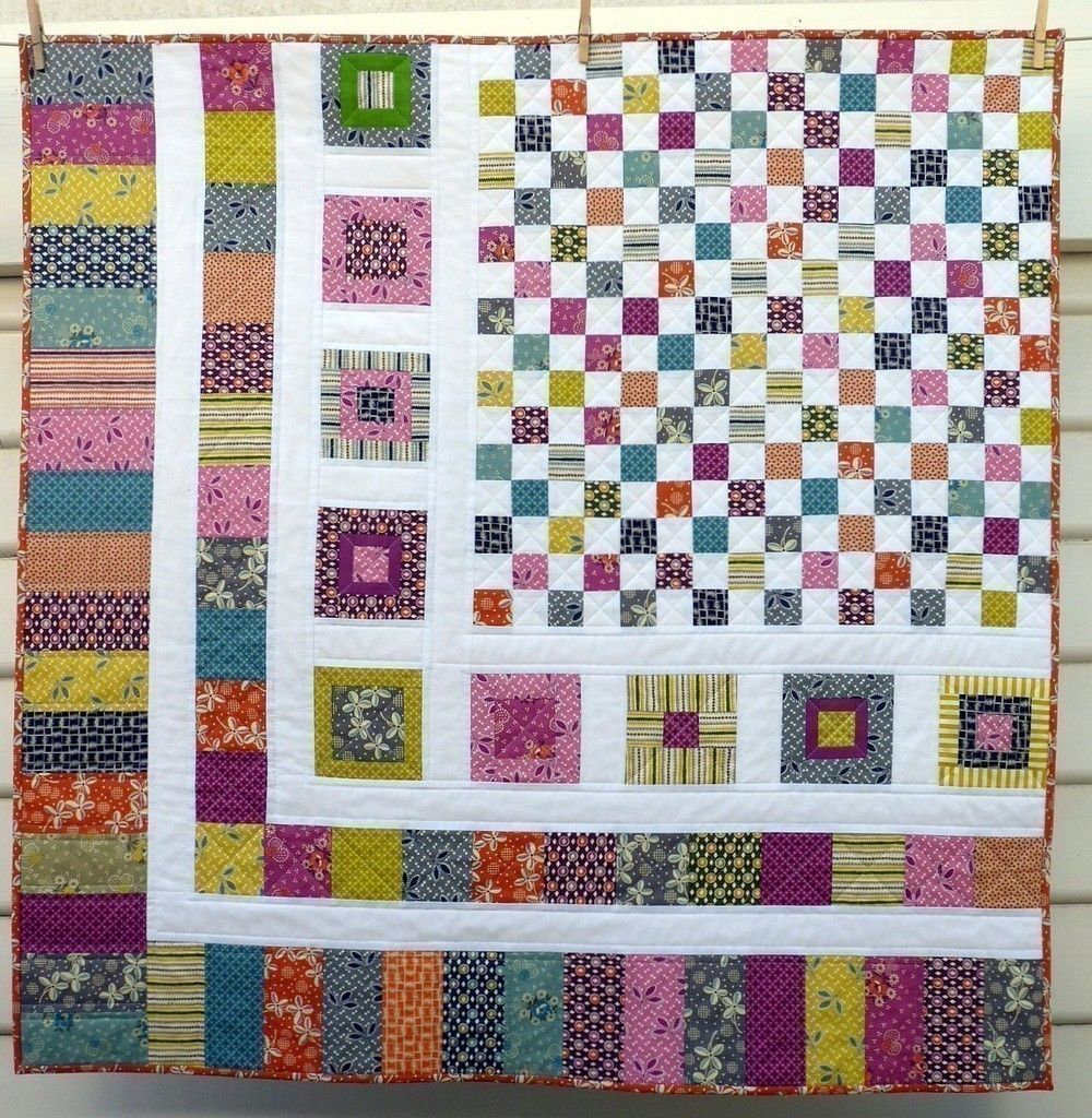 Bricks and Stones Quilt Pattern - PDF file by Red Pepper Quilts. $8.50, via Etsy.