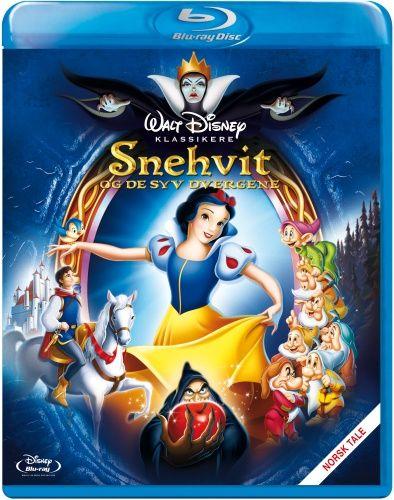 Disney Klassiker 1: Snehvit Og De Syv Dvergene (Blu-ray) (Blu-ray)