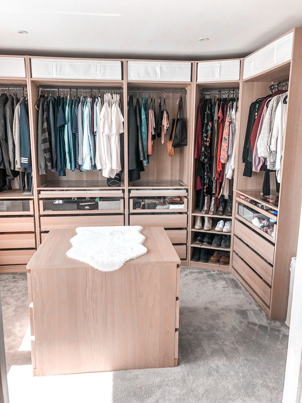 Affordable walk-in closet of your dreams
