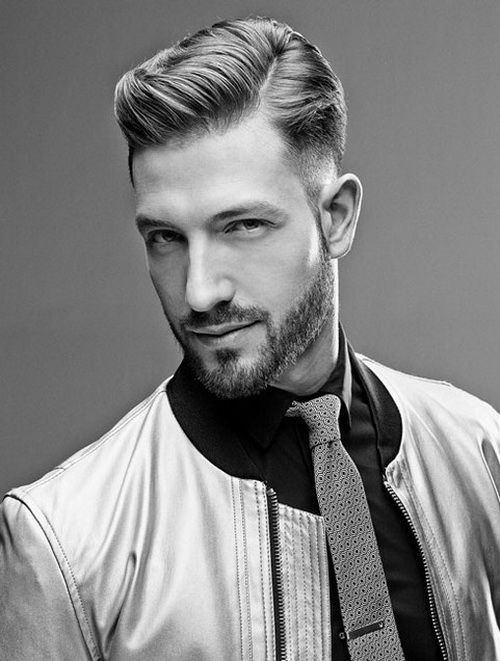The Classic 40s American Crew Mens Hairstyles 2014 with Sleek and ...