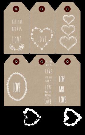 Mettre Du Coeur à L'ouvrage : mettre, coeur, l'ouvrage, CALM...., Coté, Passion, Etiquettes, Noel,, Étiquettes, Imprimables,, Etiquette, Cadeau