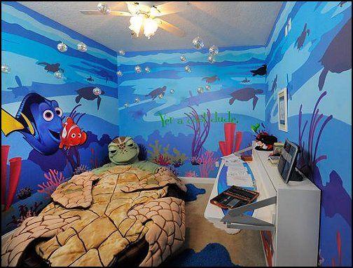 Decorating Theme Bedrooms Maries Manor Underwater Bedroom