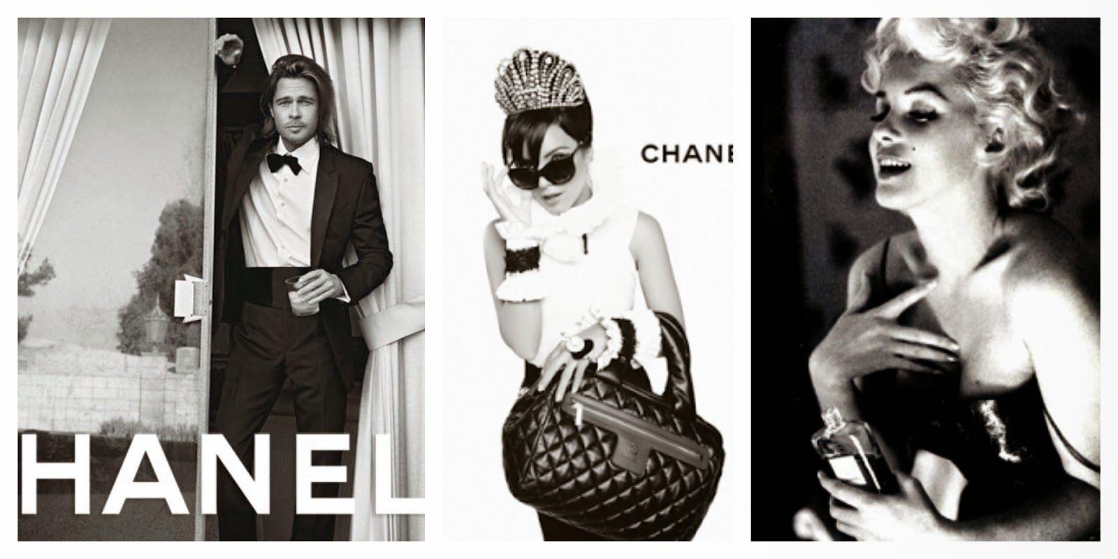L´armoire de la petite Pa: Los rostros icono de Chanel