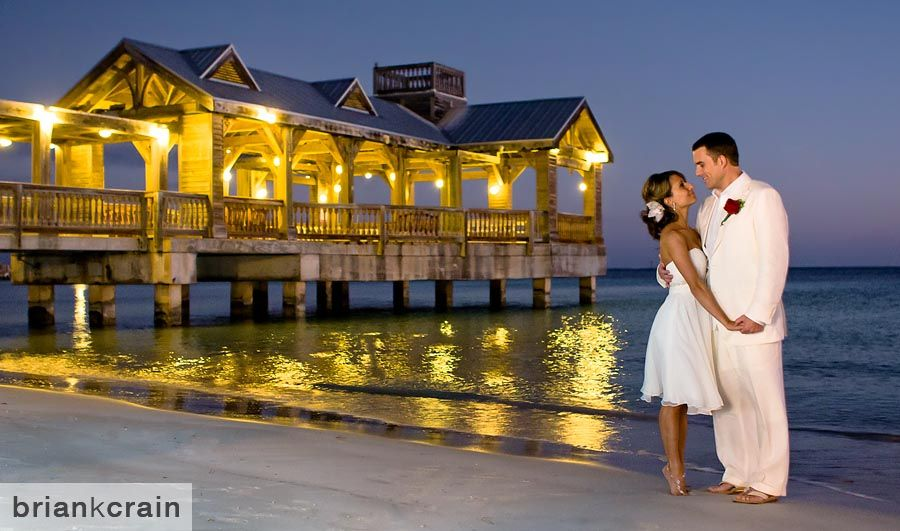 Destination Wedding Photographed At The Reach Resort In Key West Florida