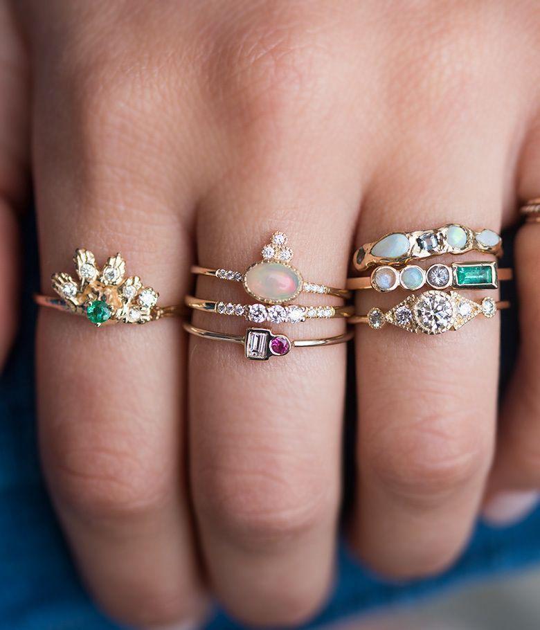 Pop Perfect Ring Diamontrigue Jewelry: Accesorios De Joyería