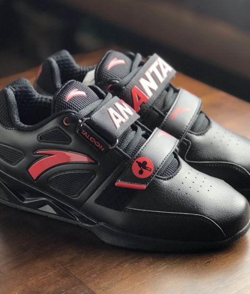 ddd355b13d5b9f hookgrip-black-red-anta-1 Weight Lifting Shoes