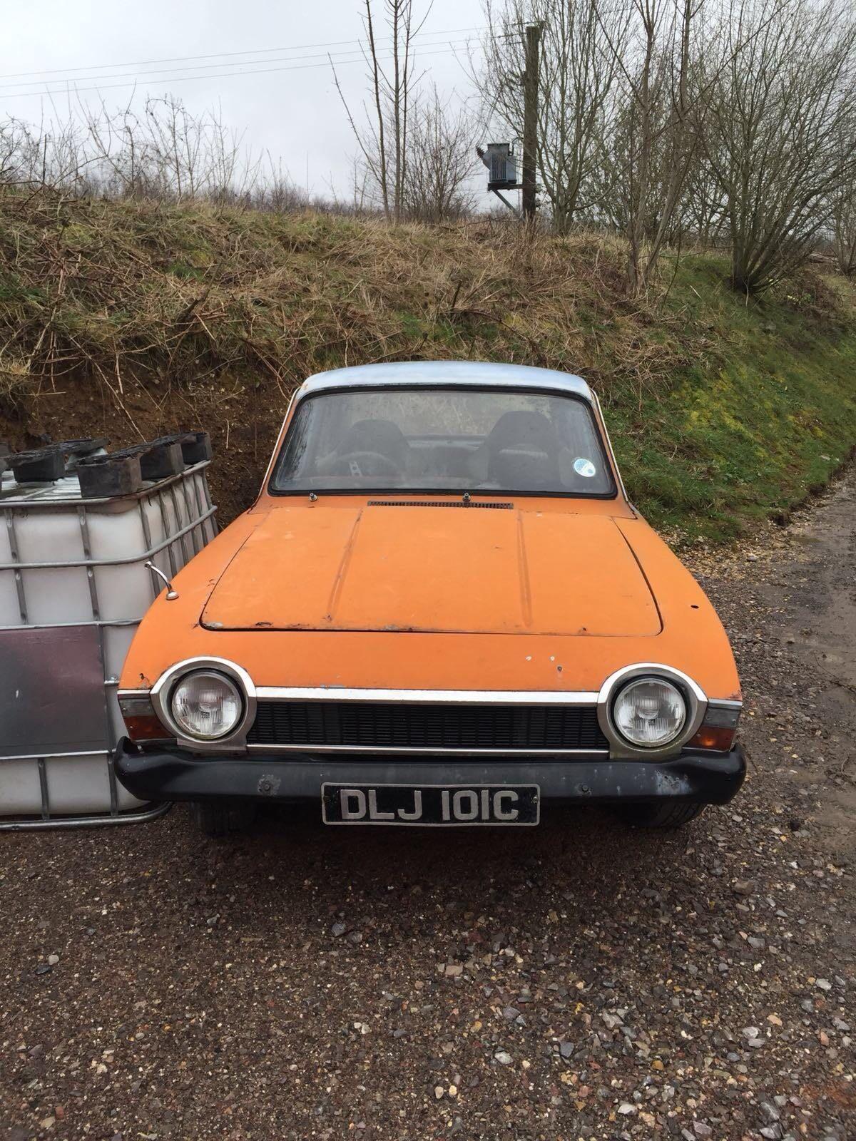 Ford Corsair V Rat Project Barn Find Drift Car Classic Car UK - Classic car projects