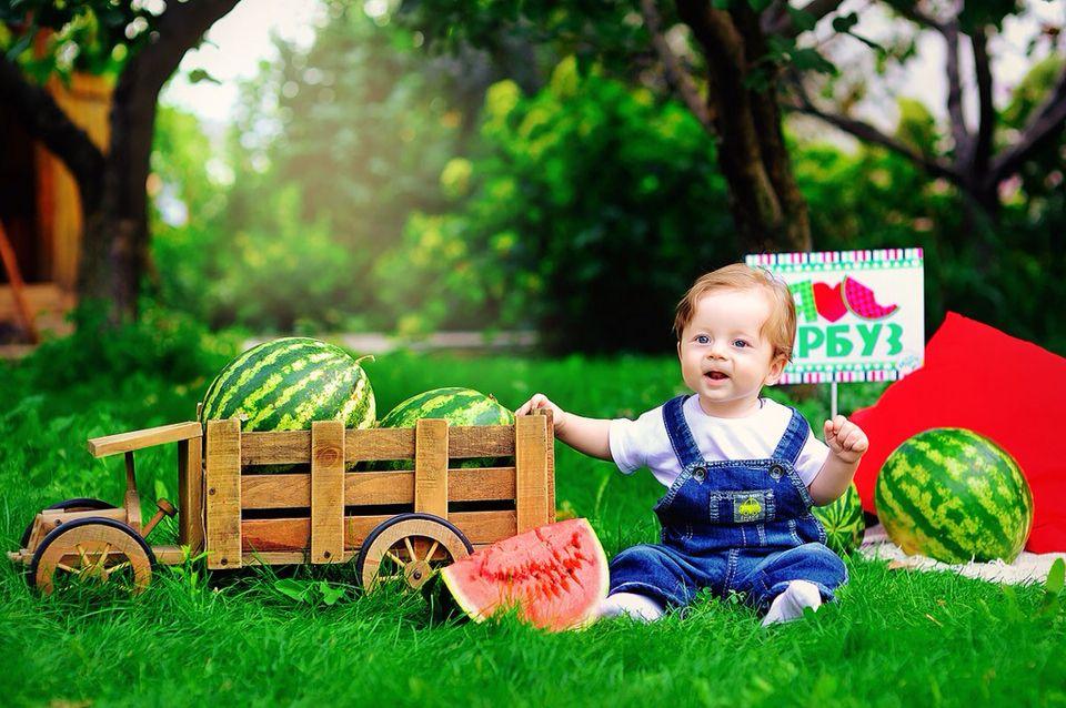 Арбузная детская вечеринка | Фотопроекты, Детская ...