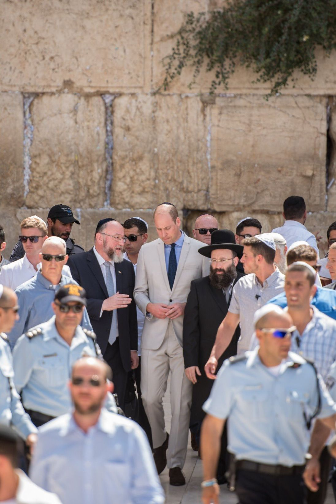 Prince William Wears A Kippah And Visits Holy Sites In