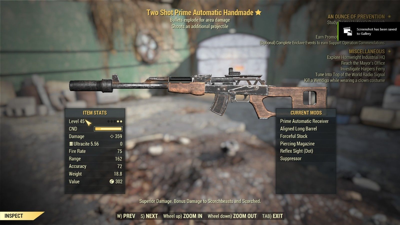 Video Game Merchandise 38583: Fallout 76 [Pc] Two Shot Explosive