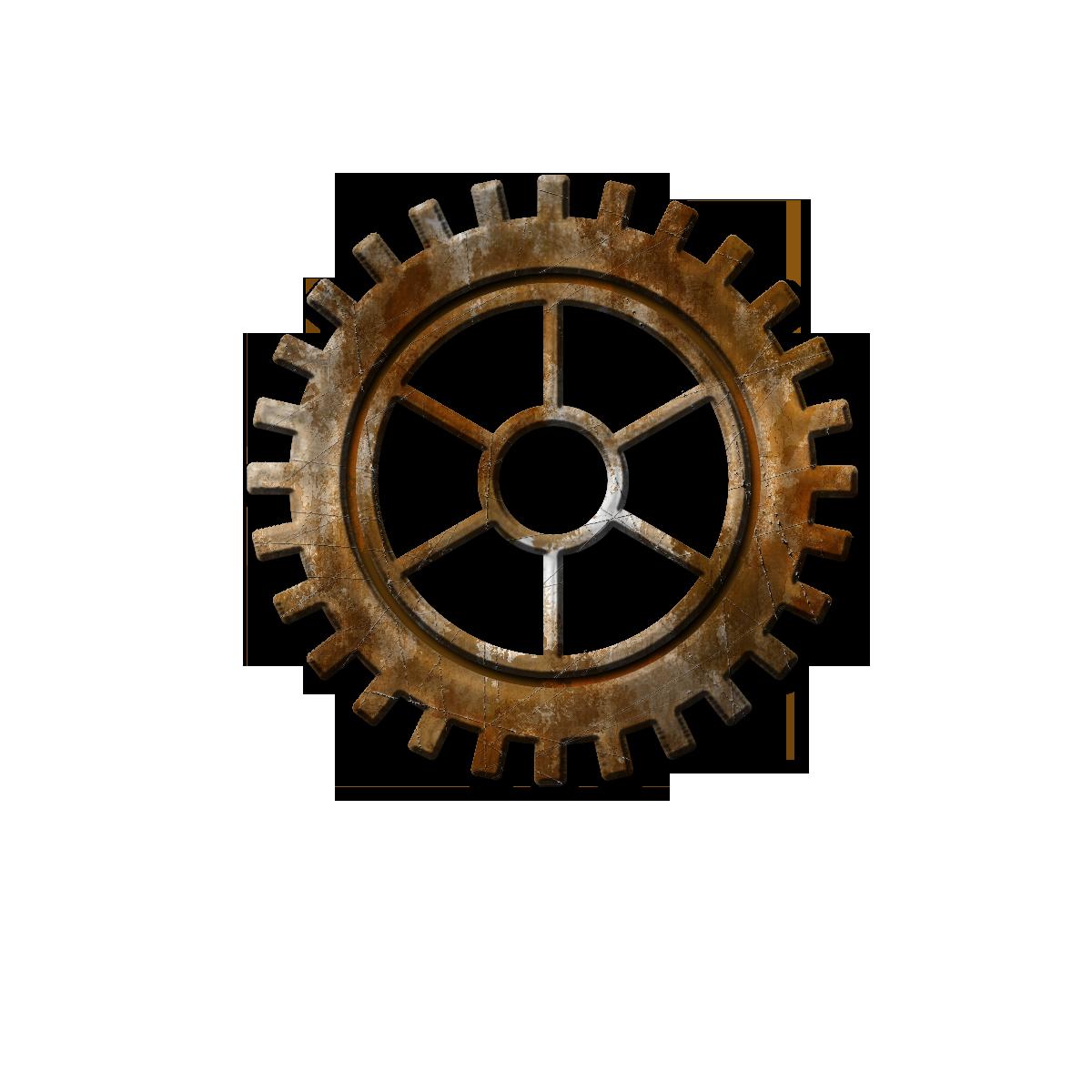 Steampunk Gear Transparent Background Steam Punk