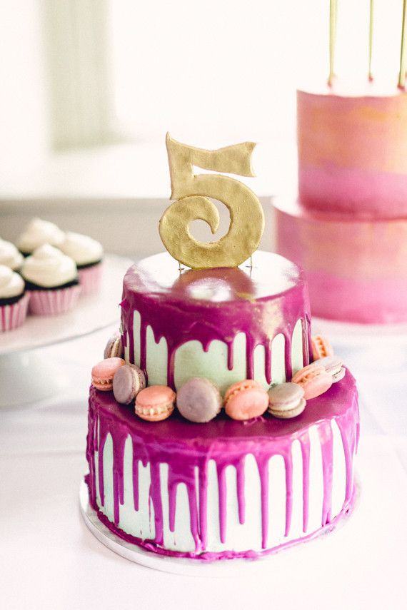 Fifth Birthday Cake Cakelet Kid Parties Pinterest Birthday