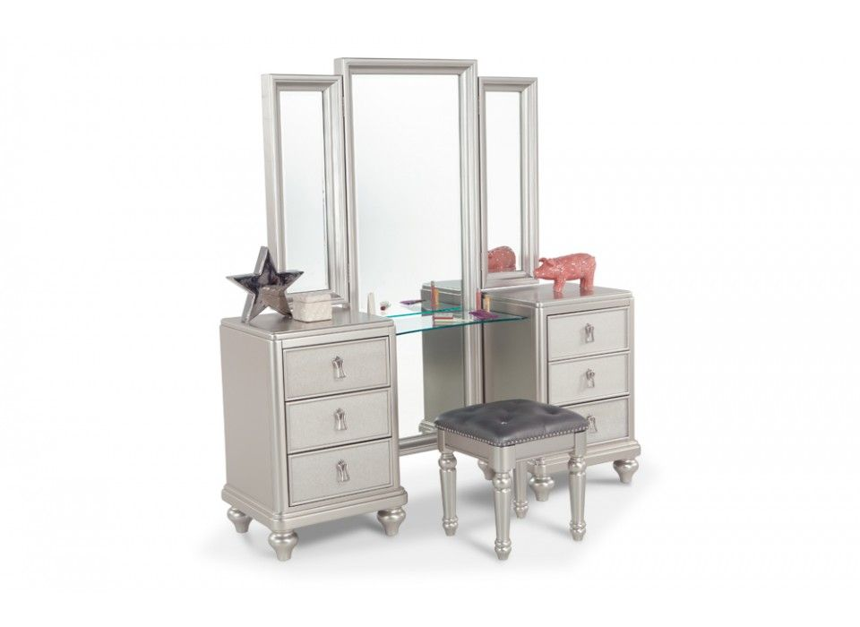 Diva Vanity Dresser & Stool | Furniture, Discount furniture ...