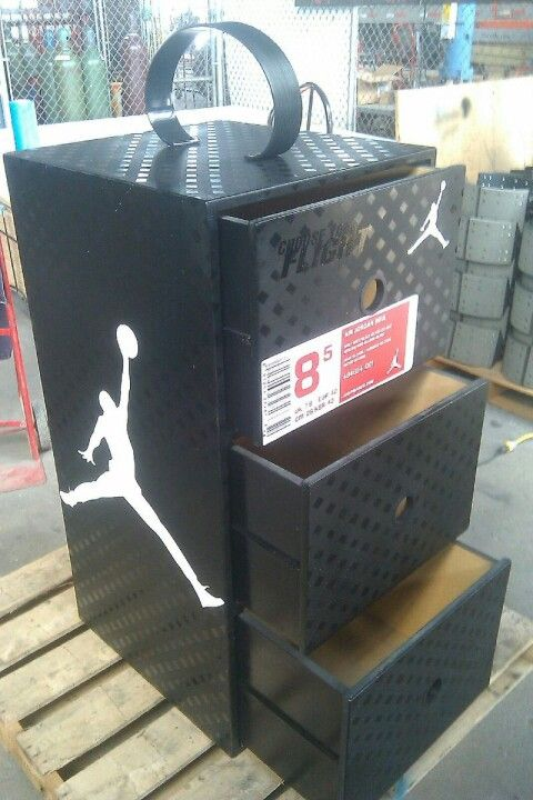 air jordan shoe storage case