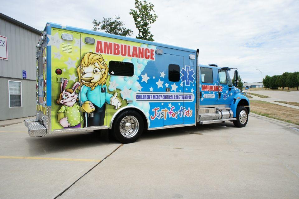 Ambulance Showcase Ambulance Details