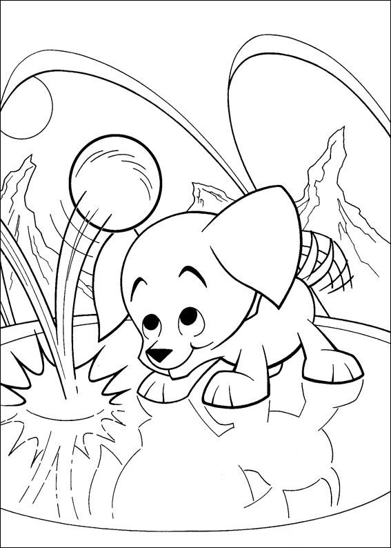 Krypto The Superdog Coloring Pages 39