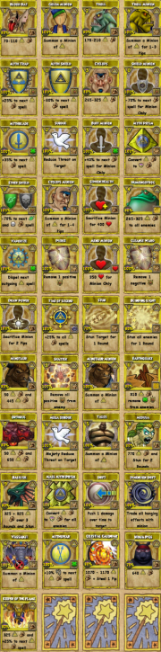 All myth spells! | Wizard101 | Wizard101, Cooperative games