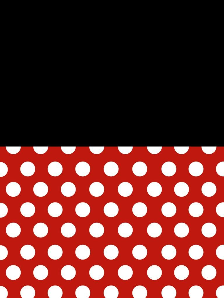 Filler Card Minnie Dots With Black Background 3x4 Disney Scrapbook Disney Scrapbook Pages Minnie Mouse Stickers