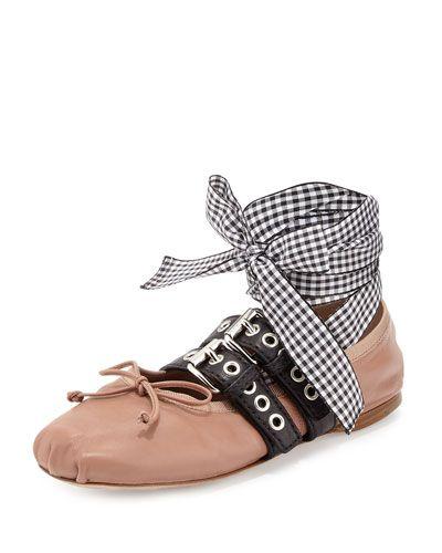 Miu Miu Suede ballerinas Best Place Outlet Visit Outlet Best Wholesale Shopping Online Exclusive Cheap Online s3qPGfi
