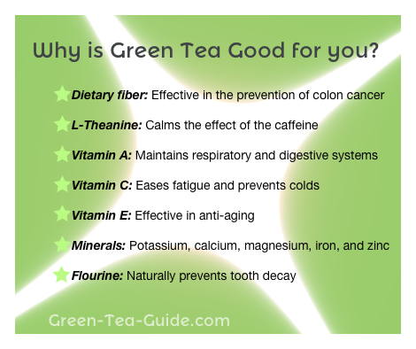7 Reasons Green Tea Is Good For You Sante