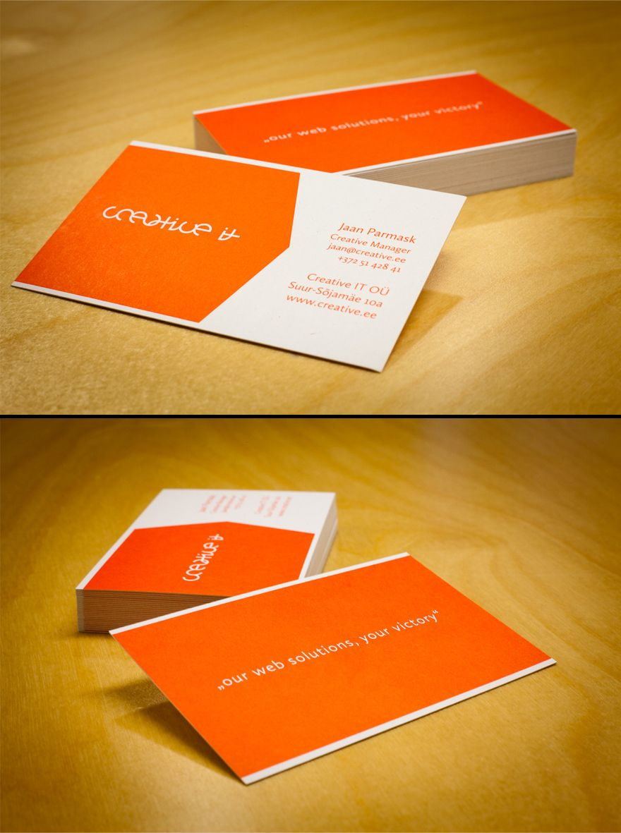 creative it business cards  business cards  creattica  graphics