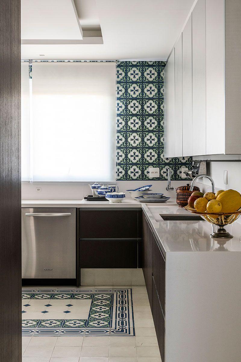 Classico E Contemporaneo Interior De Cozinha Ideias Para