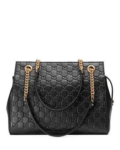 009dbe47db2 Gucci Gucci Signature Chain-Handle Tote Bag