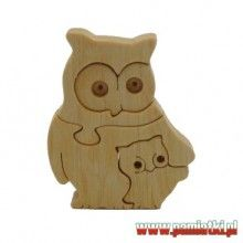 Wooden Owls Puzzle
