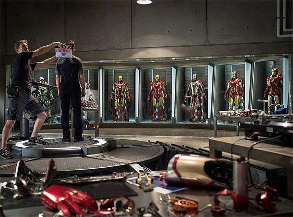 Marvel publica la primera imagen oficial de la película Iron Man 3, producción protagonizada por Robert Downey Jr, en la que encarnará por cuarta vez al célebre personaje de cómic, incluída su presentación en The Avengers.