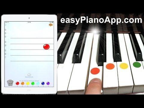 How to Play Piano with Easy Piano App for iPhone and iPad